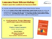 Lessons from the Silicon valley' by Michael Eckhardt