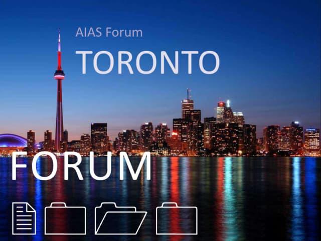 FORUM 2010 Presentation