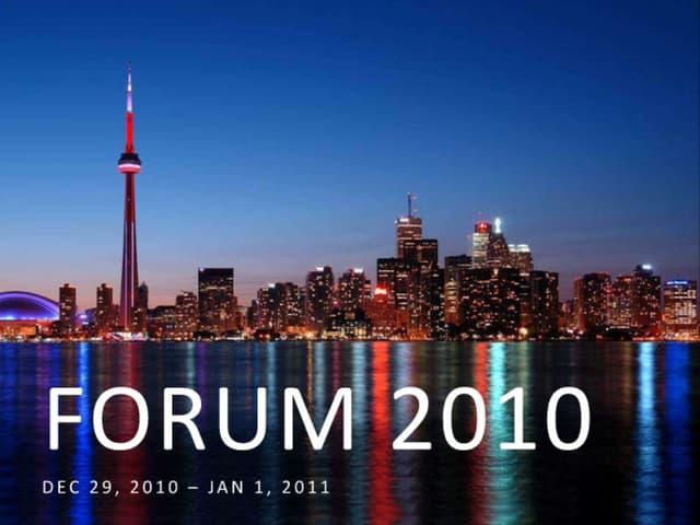 Forum november presenation_revised nov 21