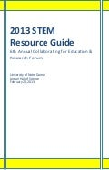 Collaborating for Education and Research Forum VI Resource Guide