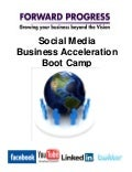 Forward Progress Social Media Boot Camp Worksheets and Handouts