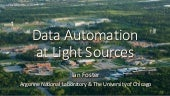 Data Automation at Light Sources