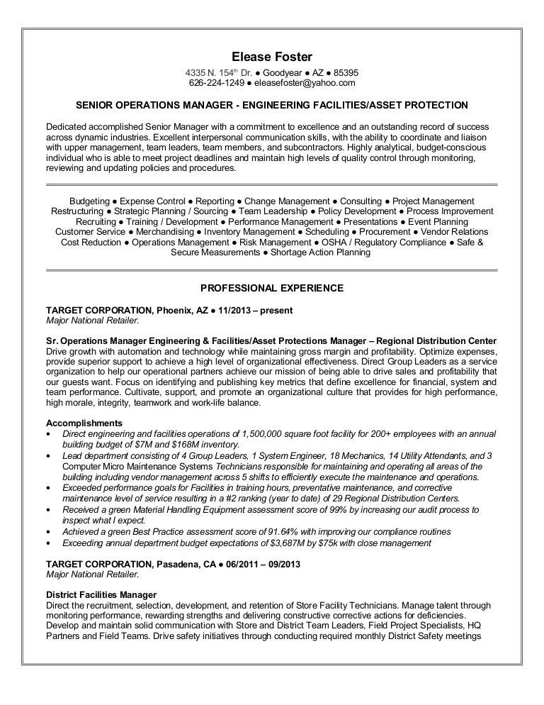 Vendor Management Resume Resume For Managementvendor Management Resume  Facilities Management Resume Sample Resume My Career Vendor  Change Management Resume