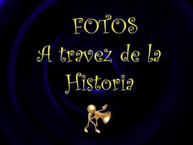 Fotos através da história