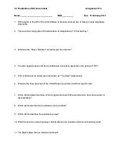 Foundations of us government questions 2012 2013