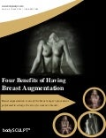 Four Benefits of Having Breast Augmentation