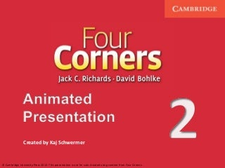 Four corners level 2 powerpoint