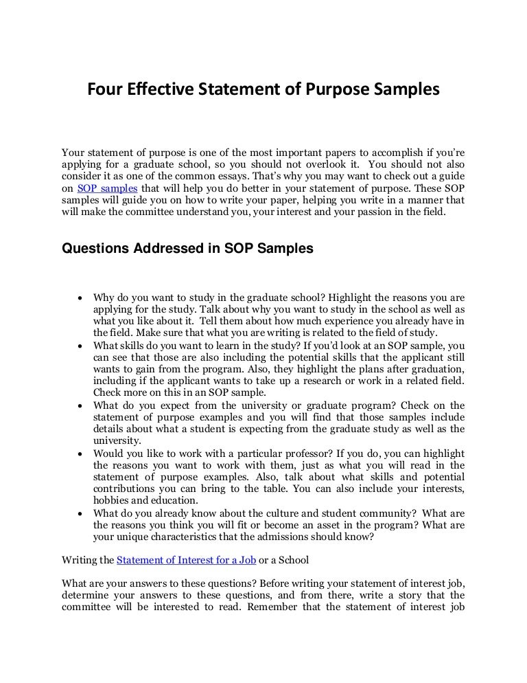 writing sops template - how to write an effective personal statement with sop samples