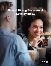 Foursquare casual dining loyalty index 2018