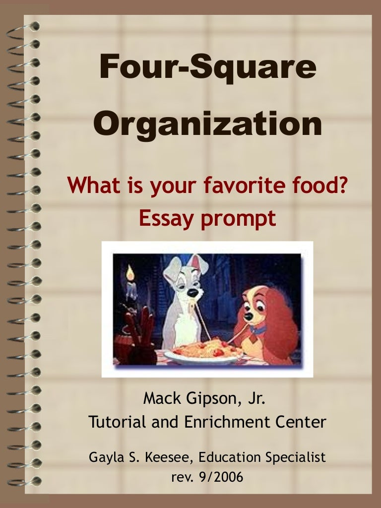 four square essay food