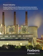 Foxboro by Schneider Electric Power Brochure