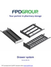 FPD H Series Pharmacy Drawers 2018