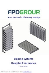 FPD H Series Pharmacy Sloping Components 2018