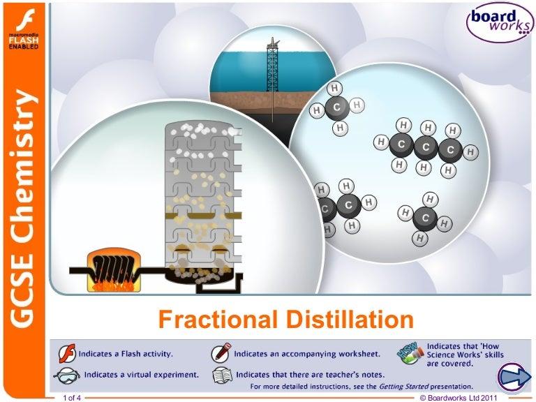 Fractional distillation free content – Fractional Distillation Worksheet