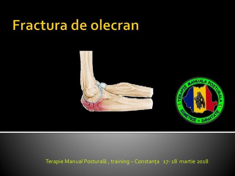deteriorarea parțială a articulației cotului)