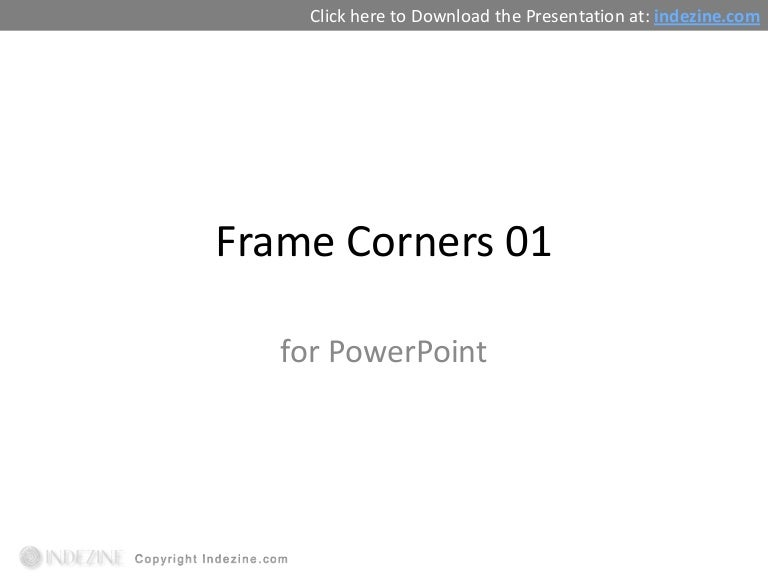 Frame Corners for PowerPoint - 01