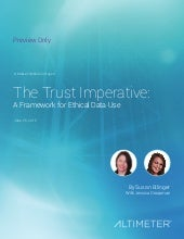 [Report] The Trust Imperative: A Framework for Ethical Data Use