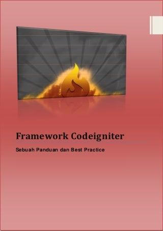 Belajar PHP Framework CodeIgniter 2.x