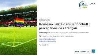 Homosexualité dans le football : perceptions des Français