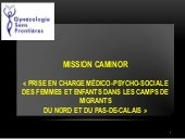 GSF France 2016 Mission Caminor