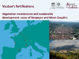 France besançon vegetation maintenance and sustainable development_cases of besançon and mont-dauphin