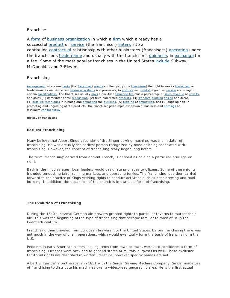 Sample Franchise Agreement Philippines Yelomdiffusion