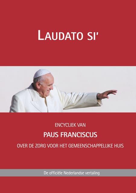 Franciscus Laudato Si 24 5 2015