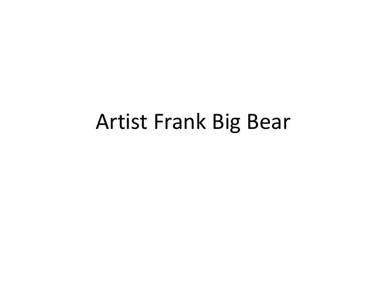 frank big bear