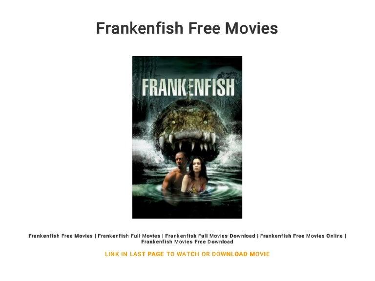 frankenfish movie poster