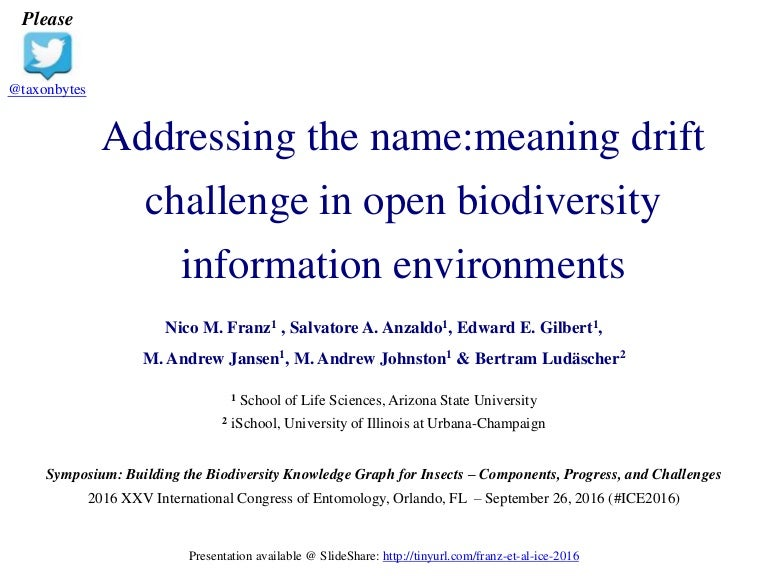 Franz et al ice 2016 addressing the name meaning drift challenge in o…