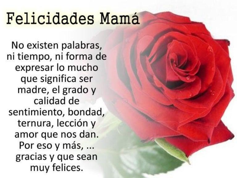 Frases Poemas Dia Madre