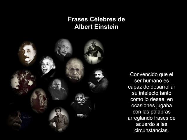 Frases de Einstein