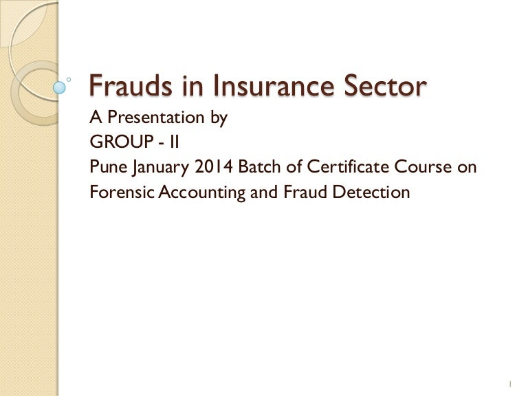 insurance fraud essays
