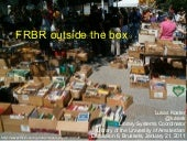 FRBR outside the box