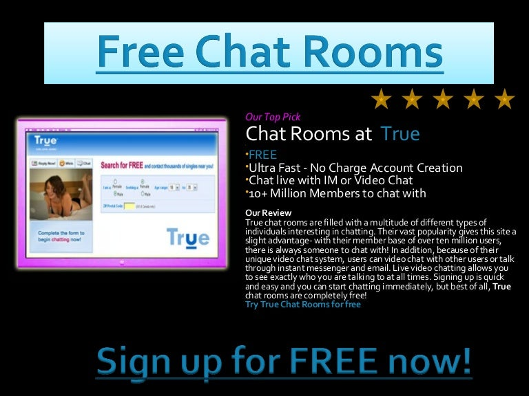 Free chat room for adults
