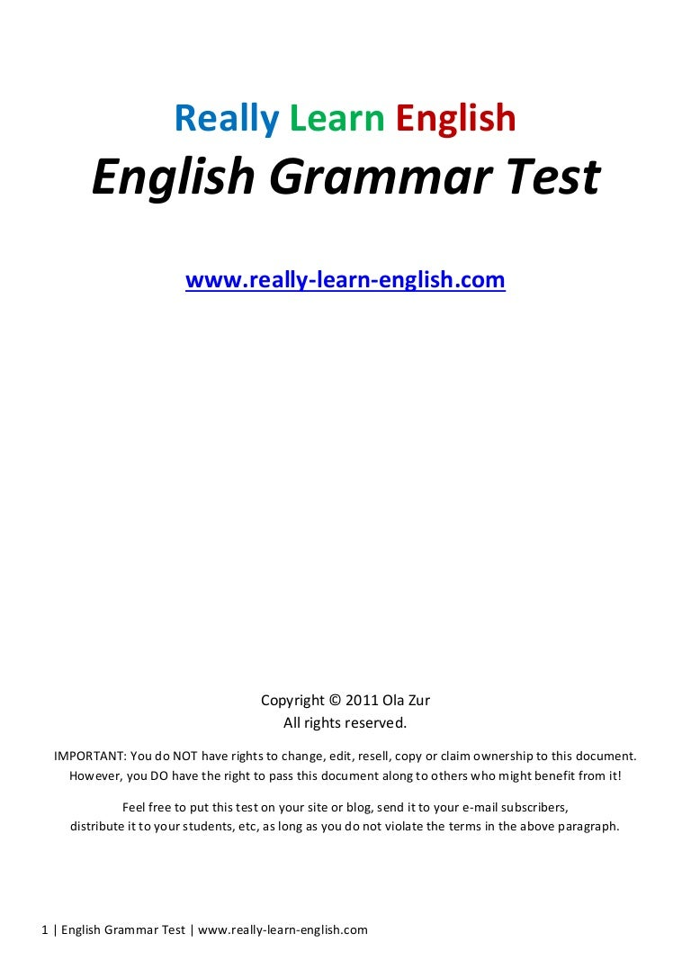English grammar test | free download english grammar app apk for.