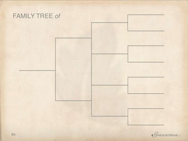 free family tree chart template from genealogybank