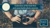 10 Best and 100% Free, Searchable Photo Collections for Business Use