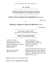 Opening Brief, Free Access v. FCC, No. 16 1100 (D.C. Cir.)