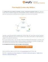 Free Aegify Community Edition