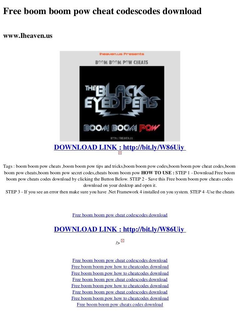 Boom boom pow remix hd mp4 videos download.