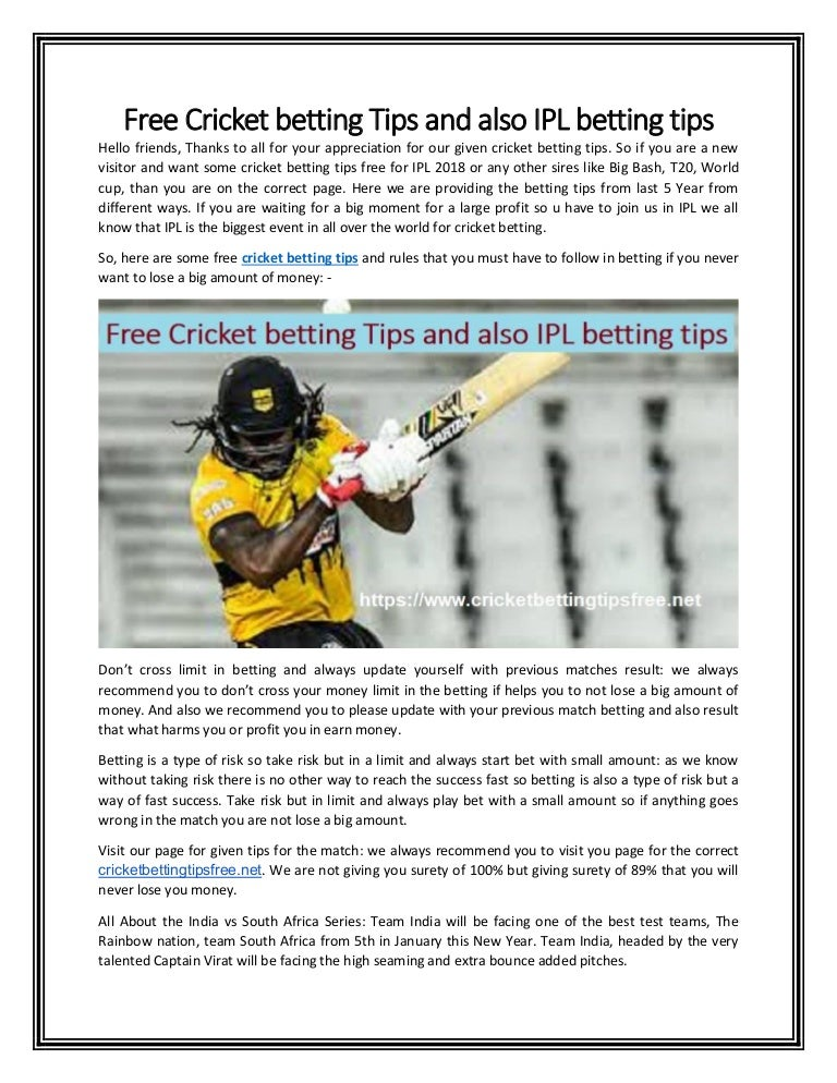 Rules for cricket betting free call me a safe bet im betting im not meaning to say
