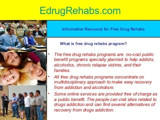 drug recovery programs free