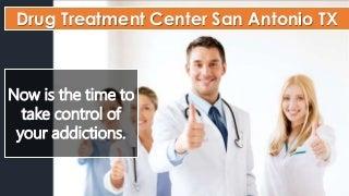Free Drug Treatment Center San Antonio TX Info - Health Insurance Covered