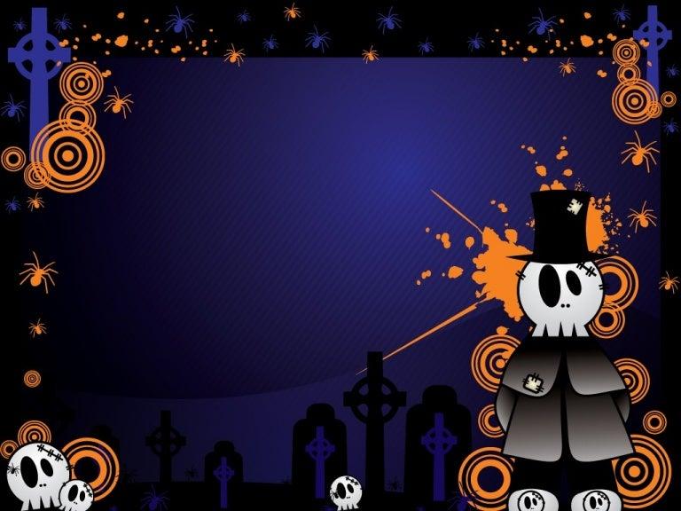Free halloween powerpoint templates 1 toneelgroepblik Images