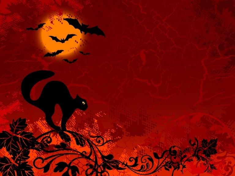 Halloween powerpoint backgrounds selol ink free halloween powerpoint templates 8 toneelgroepblik Images