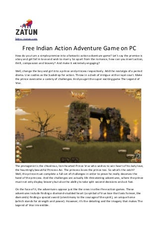 Free Indian Action Adventure Game on PC