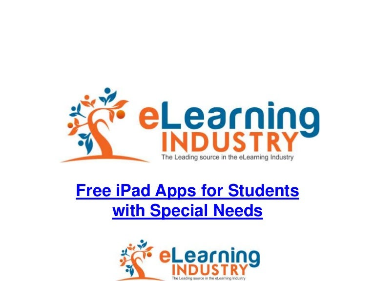 Special Needs Apps From November >> 78 Free Ipad Apps For Students With Special Needs