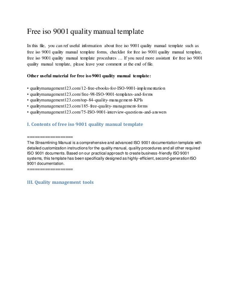 freeiso9001qualitymanualtemplate150204034838conversiongate02thumbnail4jpgcb 1423043347 – Quality Manual Template