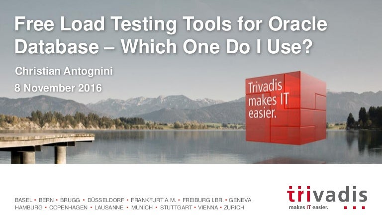 Free Load Testing Tools for Oracle Database – Which One Do I Use?